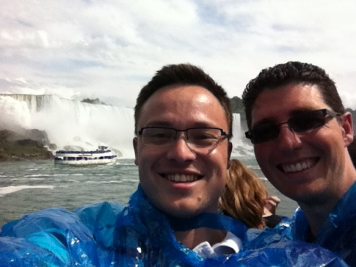 It wasn't as big as I'd imagined. 20 Jul 2013. Niagara.