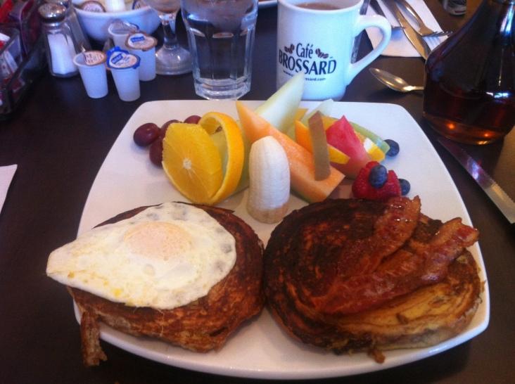 Brioche for breakfast.