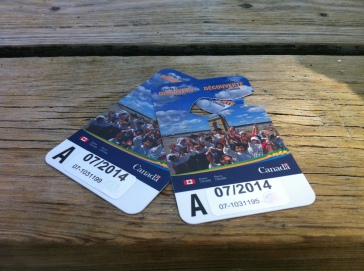National Parks Annual Pass, thanks to Fiamma and Mandy
