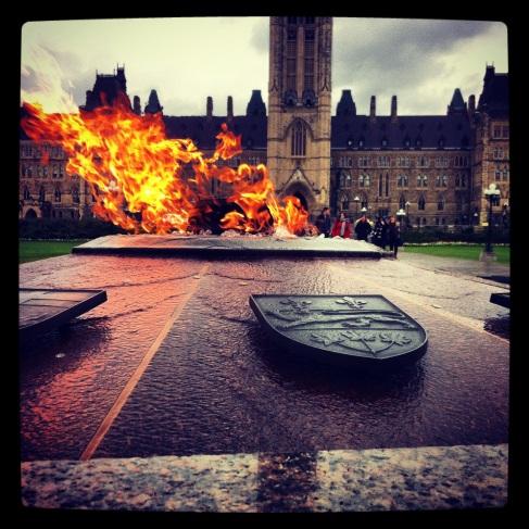 Centenary Flame