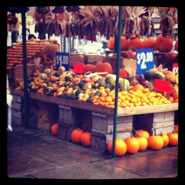 So many pumpkins.
