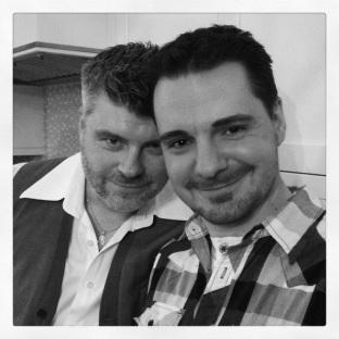 Tim & Vaughan.