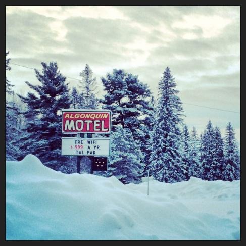 Algonquin Motel - worth a night.