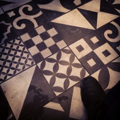 Nando's has nice floor tiles.