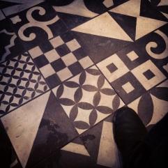 Nando's has nice floor tiles.