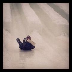 Ice slides, Ottawa.