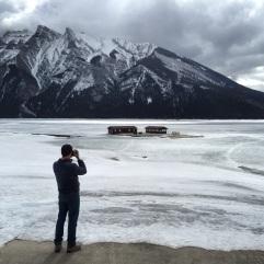 Lake Minnewanka Banff, Alberta Canada.