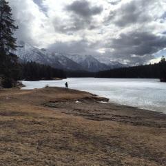 Johnson Lake, Banff Alberta Canada