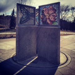 Sculpture Prince's Island, Calgary.