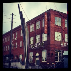 West Elm: fancy homewares.