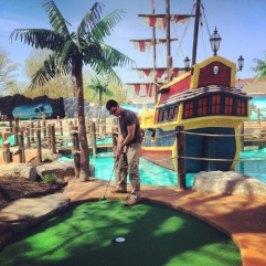 Skull Island Adventure Golf. 25 May 2014.