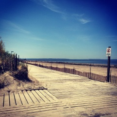 Wasaga Beach - away from the crowd.