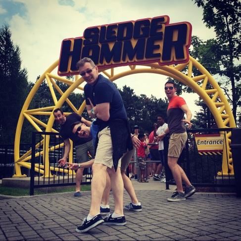 Sledge Hammer. Canada's Wonderland.