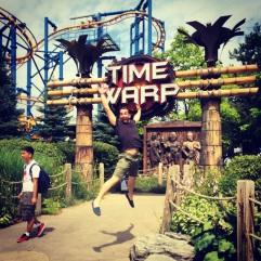 Time Warp. Canada's Wonderland.