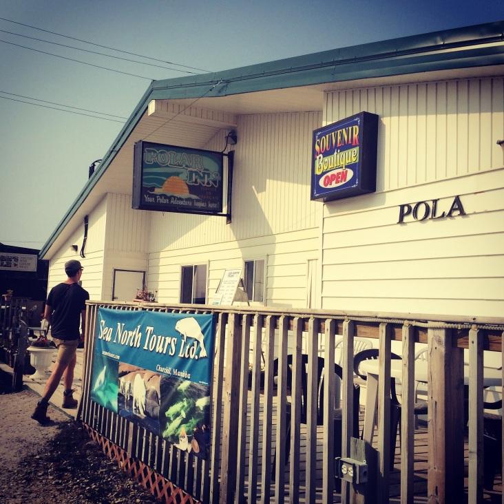 Polar Inn, Churchill, Manitoba.