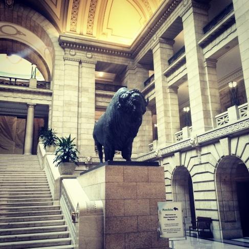 Manitoba Legislature, Winnipeg.