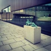 Another Henry Moore sculpture. Winnipeg Art Gallery.