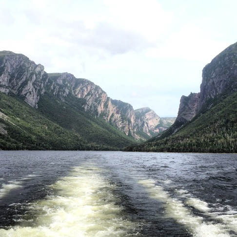 Western Brook Pond, Gros Morne National Park, Newfoundland Canada.