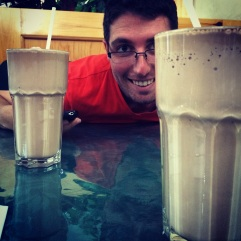 Milkshakes as big as your face.