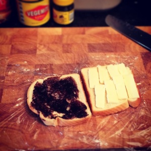 Cheese & Vegemite.