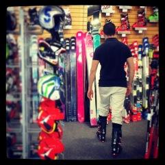 Ski boots!
