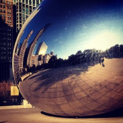 Cloud Gate Chicago.