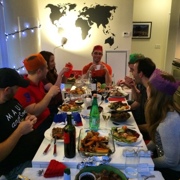 Day 548 Christmas Dinner With Neighbours