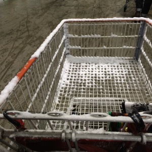 Shopping trolley in Canada.