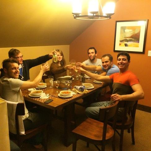 Group dinner.