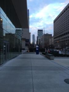 University Ave, Toronto.