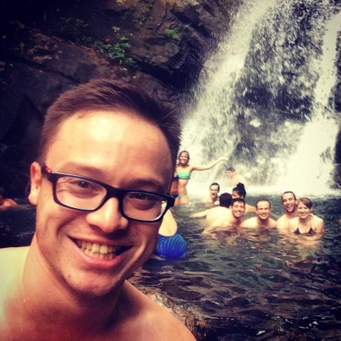 La Mina Waterfall, El Yunque rainforest, Puerto Rico.