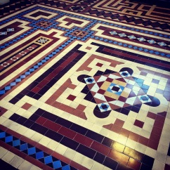Tiles, Osgoode Hall. Toronto.