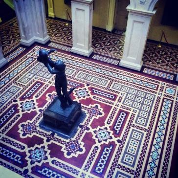 Statue, Osgoode Hall. Toronto.