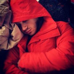Julian slept.