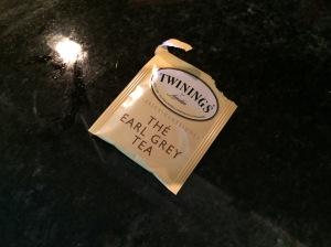 "It's not actually ""The Earl Grey Tea""."