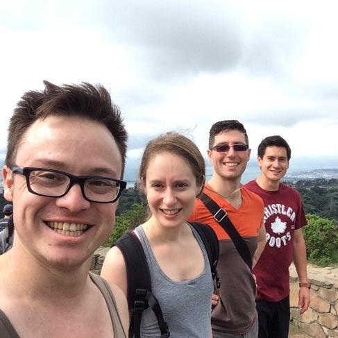 We hiked to the top of Wildcat Peak