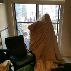 Daniel the sheet ghost.