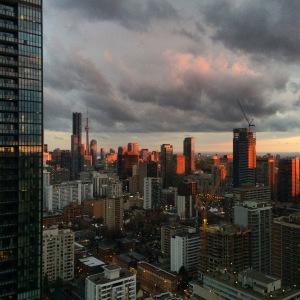 Sunset, Toronto.