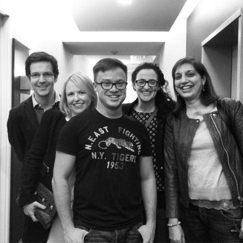 Luis, Jen, me, Shlomit & Tanya