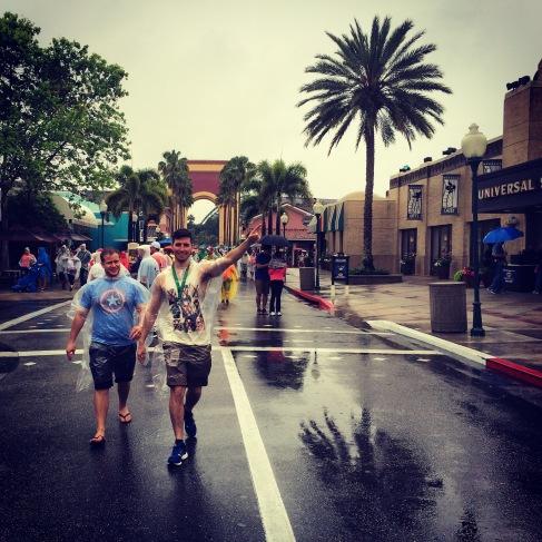 Rain won't stop us!