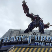 Transformers. I watched the outside.