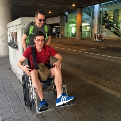 Dan found a wheelchair.