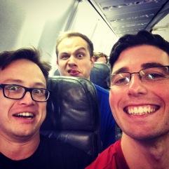 That guy was behind us again...
