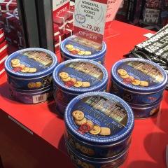 Dan refused to let me buy Copenhagen cookies.
