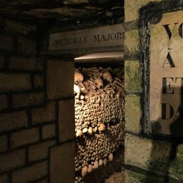 Catacombes, Paris.