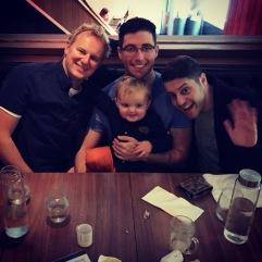 Dave, Dan, Pete & Josh