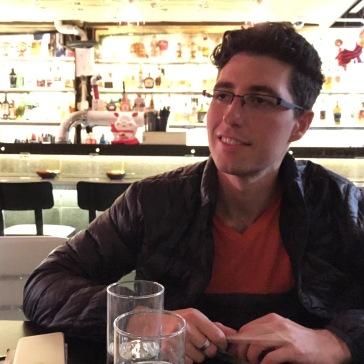 Dan at Lucky Chan's, Northbridge.