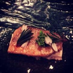 King George whiting, steamed prawn and silken tofu.
