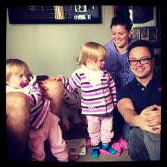 Luke, Kassy & the twins.