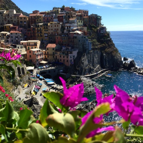The best view is from the cemetery. Manarola, Cinque Terre, Italy